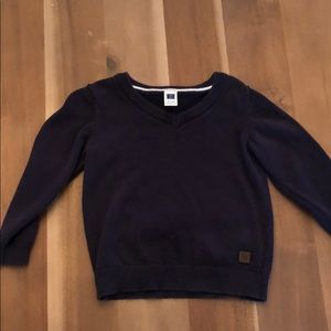 Janie and Jack navy sweater